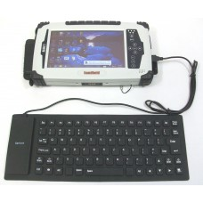 Leica CS25 Tablet Flexible USB Keyboard, Water-Resistant