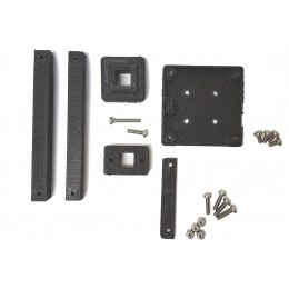 Zubax GNSS 2 Housing and Elevation Mast Kit, 10 centimeter version