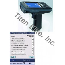 AT870 Barcode Reader PDA + File and Folder Tracking Software