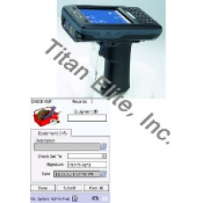 AT870 Barcode Reader PDA and Tool or Equipment Tracking Software