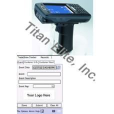 AT870 Barcode Reader PDA & Tradeshow Antendee Tracking Software