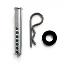 HECKLER DESIGN, 3 INCH CLEVIS PIN (.5 DIAMETER), PIN AND WASHER